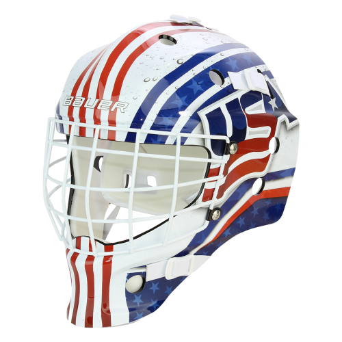 Brankárska maska Bauer NME Street USA 3XS