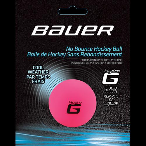 Hokejbalová loptička Bauer Hydro cool weather