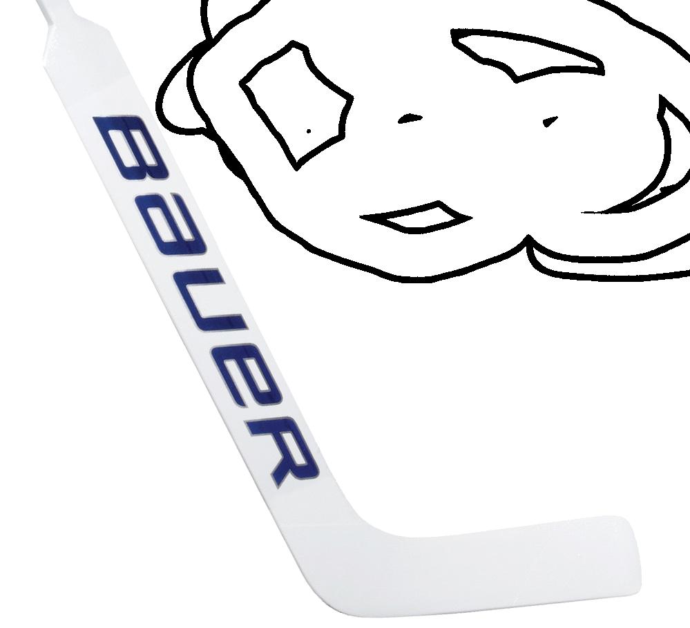 Brankárska hokejka Bauer Reactor 7000