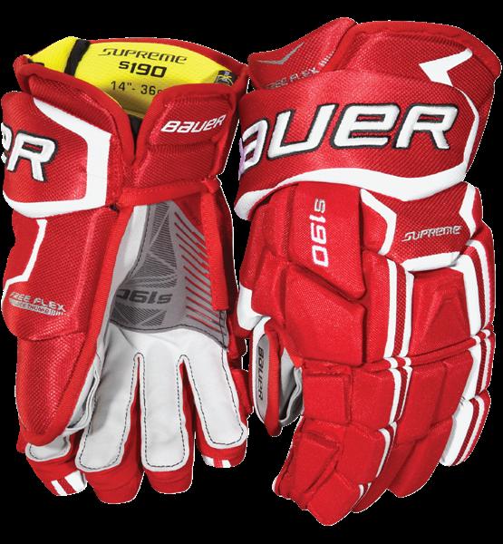 Hokejové rukavice Bauer Supreme S190