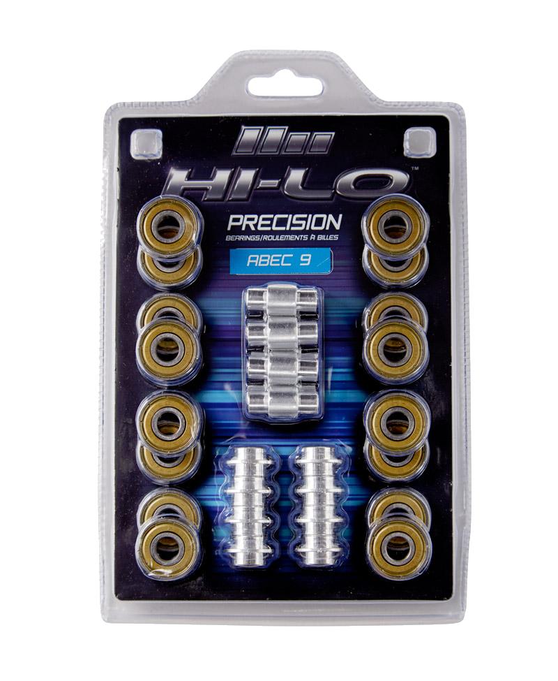 Ložiská HI-LO RH S19 ABEC 9 608
