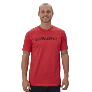 Tričko Bauer Graphic SS Crew Red